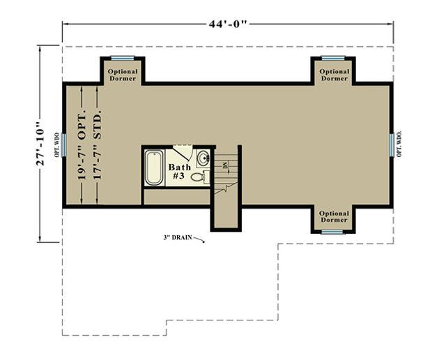 Second Floor Blueprint for Tribute