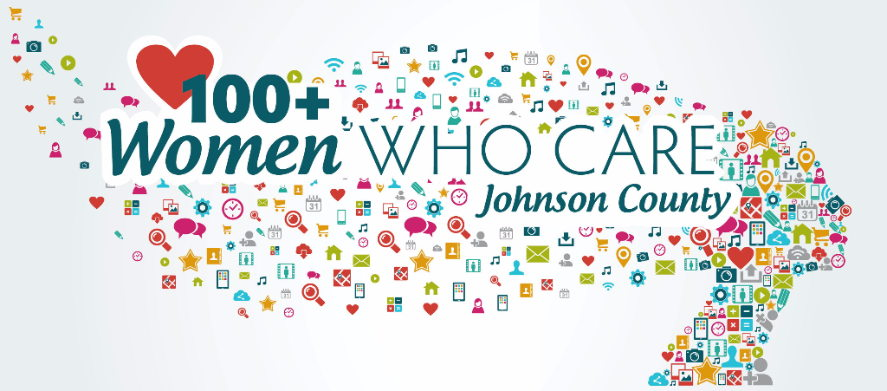 100+ Women Who Care logo