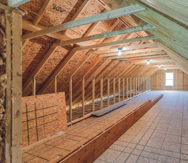 Non-Habitable Attic