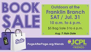 July 2021 Book Sale