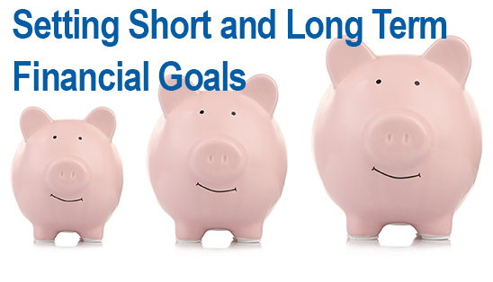 Image for Setting Short & Long Term Financial Goals