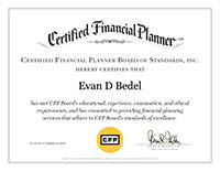 Evan Bedel CFP Document