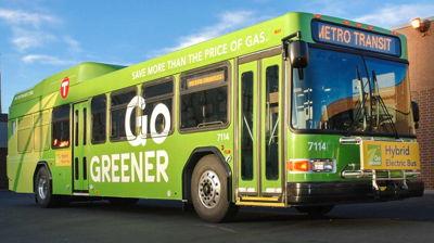 Metro Transit Bus Wrap