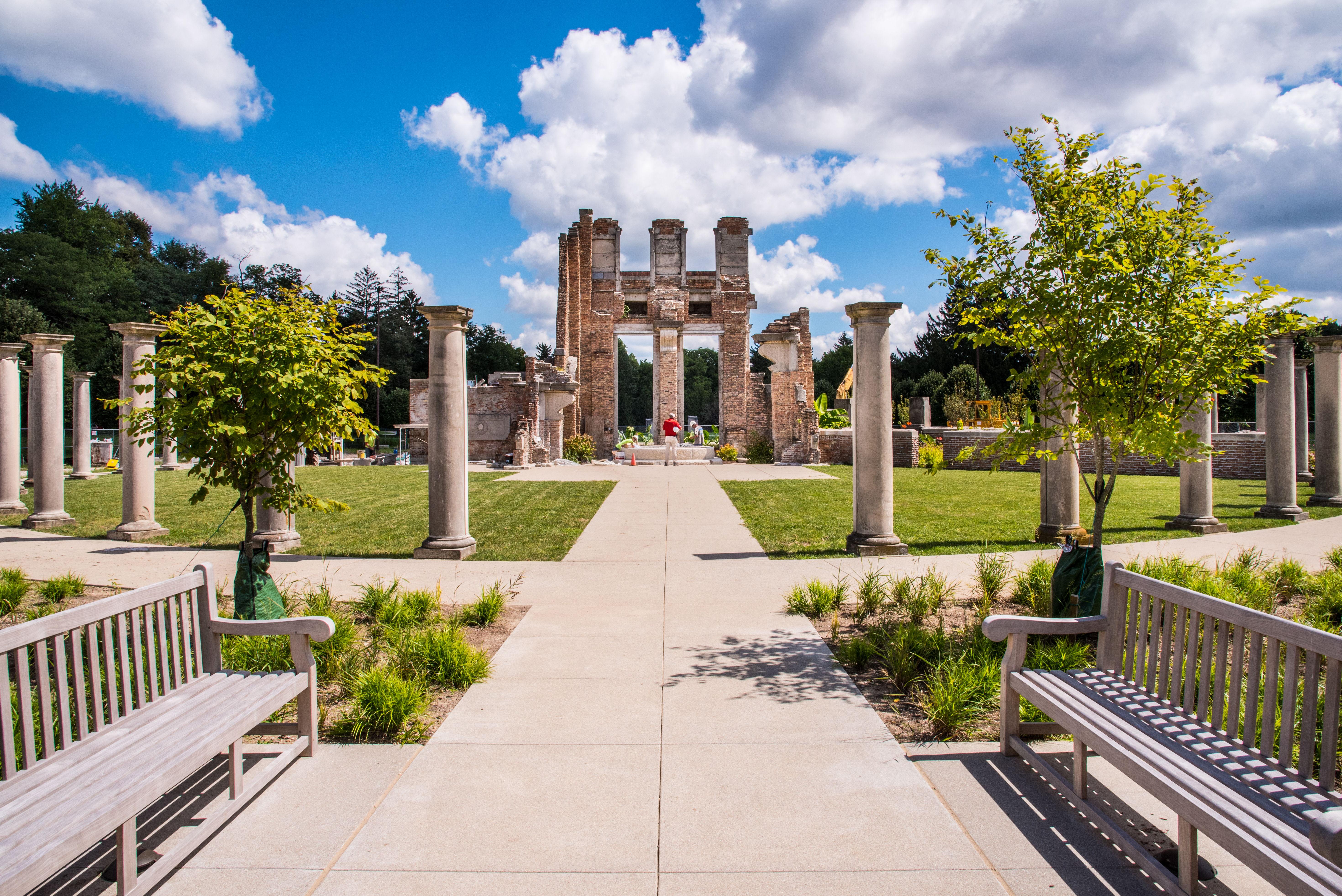 holliday park ruins
