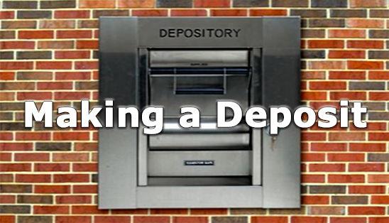 Image for Making a Deposit