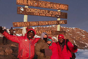 Bill Wendling at Mt. Kilimanjaro