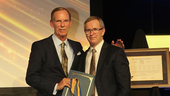 Bruce McKinney named Distinguished DU