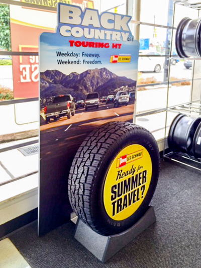 Promotion Strategies for Retailers Tire Display