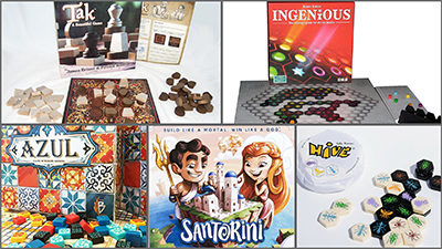 Board game box fronts