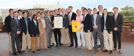 Delta Tau Delta Installs Kappa Zeta Chapter at the College of Charleston