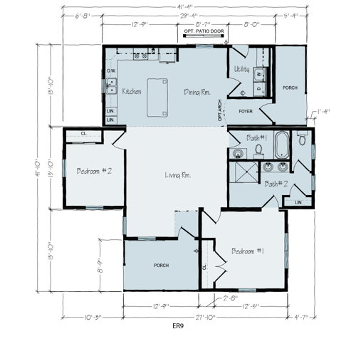 Floorplan of Frankfort