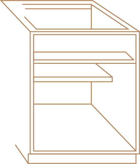 frameless cabinet icon