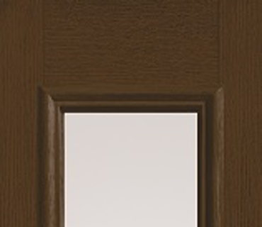HALF GLASS WOOD GRAIN SIDELIGHT