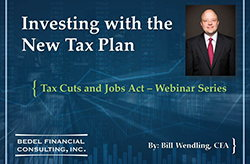 Tax Cuts and Jobs Act Series - #1: Investing with the New Tax Plan