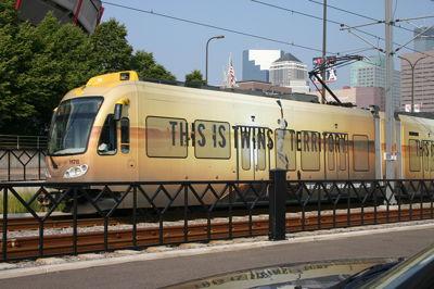 Commuter Train Full Wrap