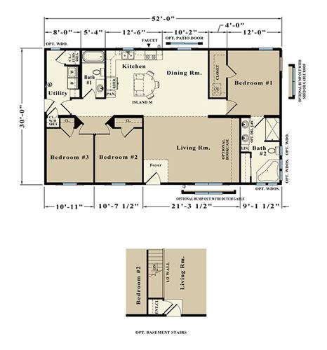Second Floor Blueprint for Adelaide