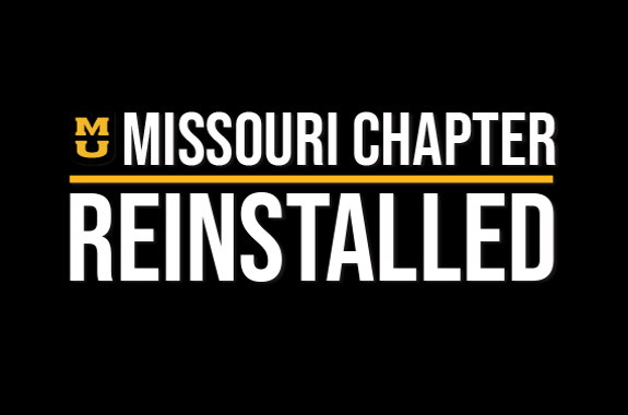 Image for Missouri Chapter Reinstallation
