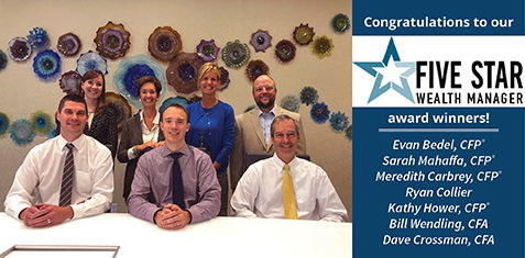 5 Star Award Winners from Bedel for Wealth Management