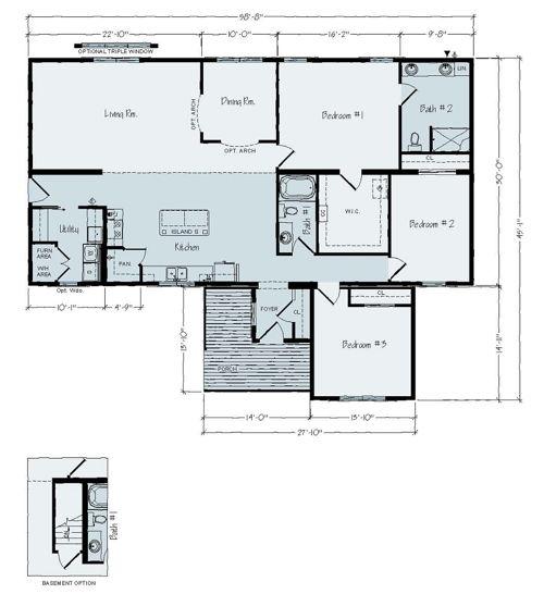 Floorplan of Radford