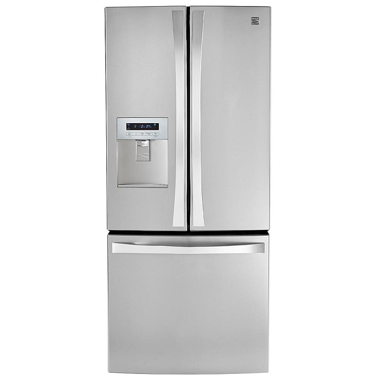 KENMORE 24 CU. FT. REFRIGERATOR- STAINLESS