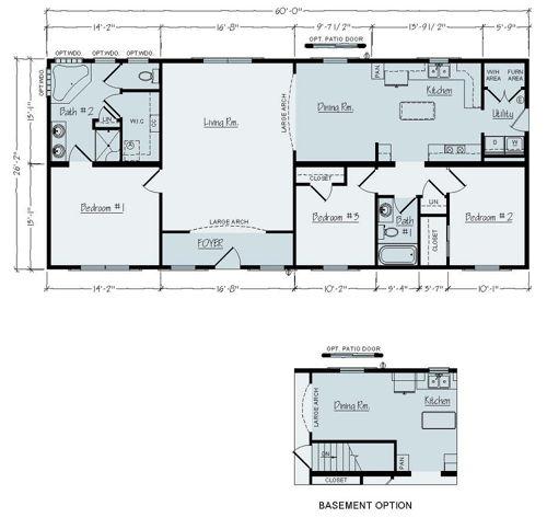 Floorplan of Elkins