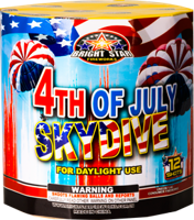 Image of 4th of July Skydive 12 Shots