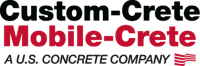 Logo for Custom-Crete