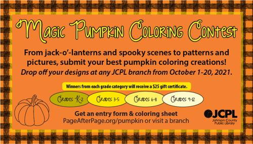 Magic Pumpkin Coloring Contest