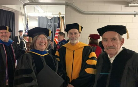 Image for Epsilon Pi/Northern Illinois alumnus receives Honorary Doctorate from NIU