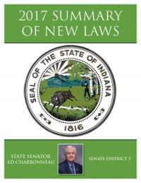 2017 Summary of New Laws - Sen. Charbonneau