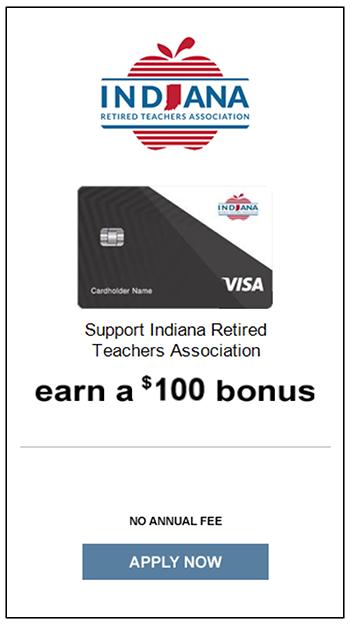 Indiana Retired Teachers Association Visa