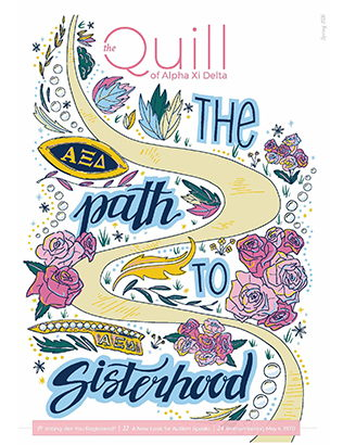 Cover of The Quill of Alpha Xi Delta Spring 2020