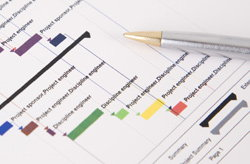Project management graph