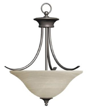 FOYER LIGHT-BRONZE