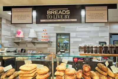 Bread Department Flat Signs
