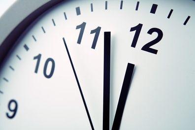 clock at 12-50am