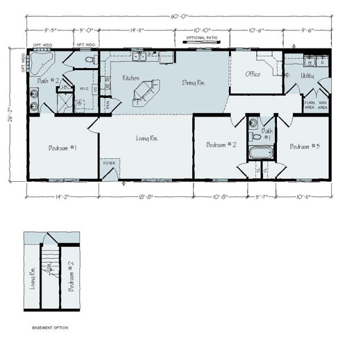 Floorplan of St Paul