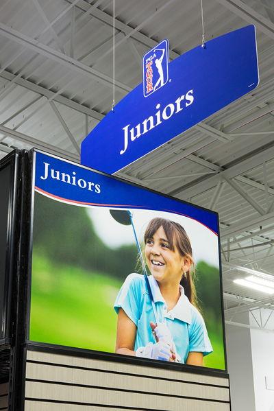 Ceiling Hanging Junior Department Sign
