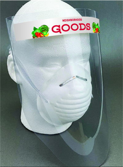 Branded Face Shield