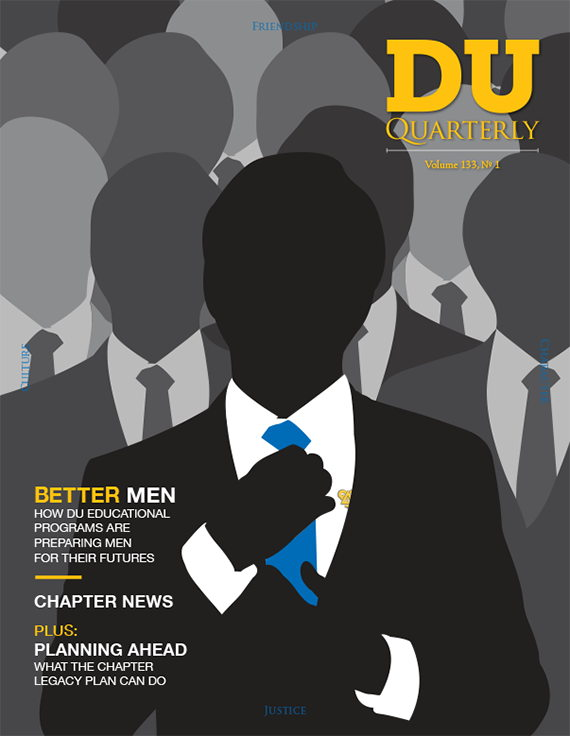 Cover for DU Quarterly Volume 133, No. 1