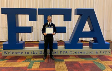 Image for IC Graduate Wins National FFA Award