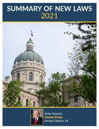 2021 Summary of New Laws - Sen. Kruse