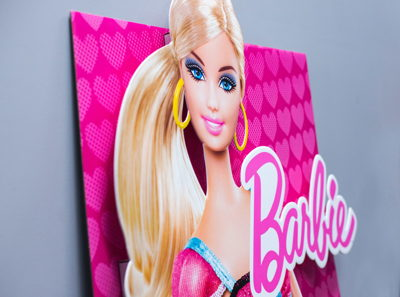 Barbie Litho Dimensional Display