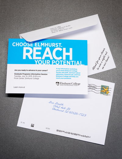 Elmhurst College Direct Mail