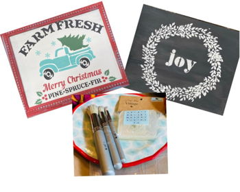 Sign Stenciling Class