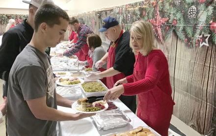 Image for Eta Gamma Chapter Lends Helping Hand for Christmas Dinner
