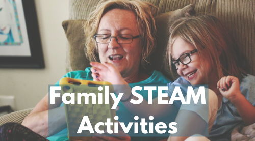 Image for Family STEAM Activities