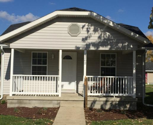 A Habitat rehab home