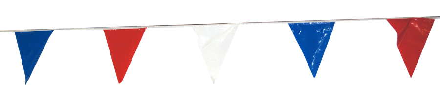 Image for Plastic Pennant Strings 60'