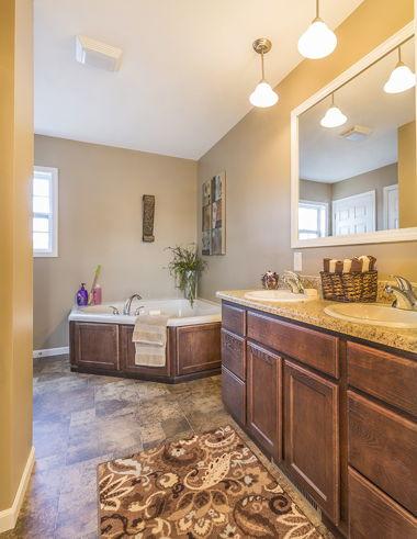 Full Bath with Corner Soaker